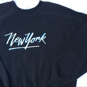 Vintage 80s New York crewneck sweatshirt